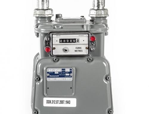 Medidor Volumétrico con Conexiones