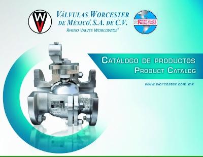 Catalogo de Productos Válvulas Worcester Gas LP